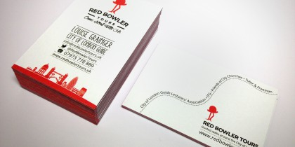Red Bowler brand identity design